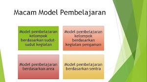 Macam-Macam Model Pembelajaran di Pendidikan Anak Usia Dini