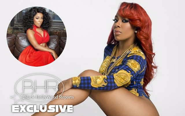 Singer And TV Personality K.Michelle Hints She's Engaged On Social Media