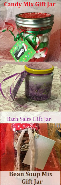 3 gift jar ideas