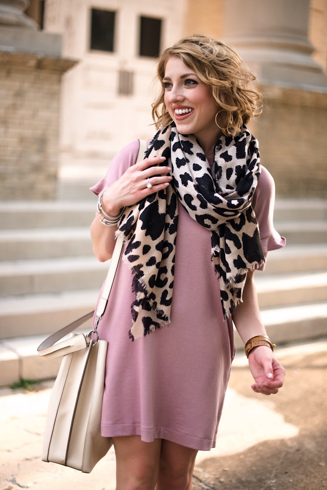 Pink + Leopard - Click through to find all the details on Something Delightful Blog!