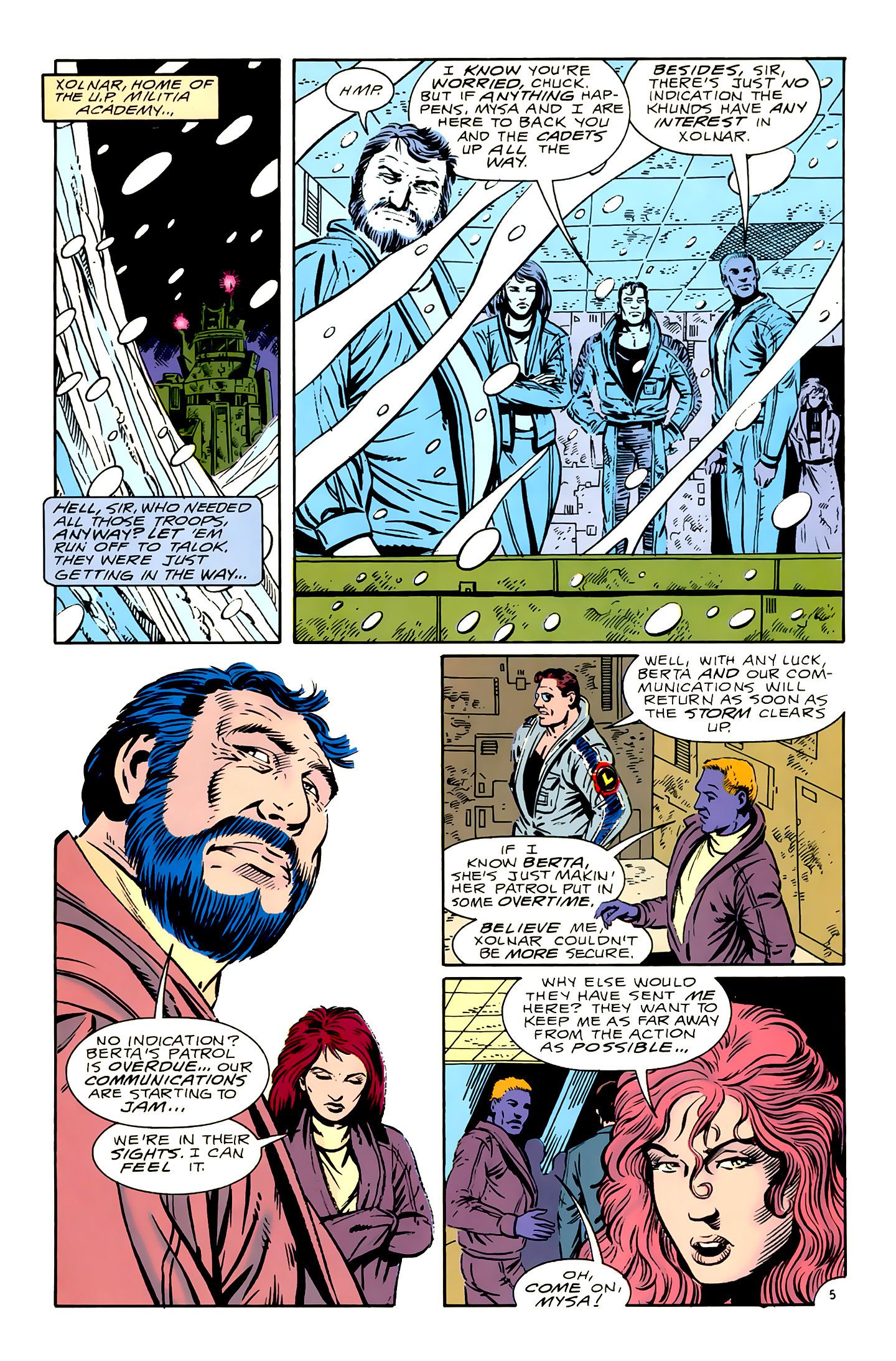 Legion of Super-Heroes (1989) 16 Page 5