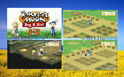 Harvestmoon Boy And Girl ISO CSO PPSSPP High Compress Android