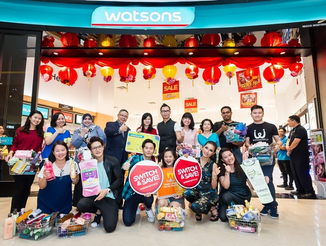 My Switch and Save, Watsons Malaysia, Shopping Heaven With Watsons Brand