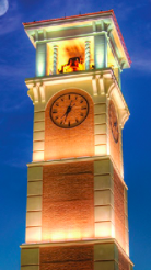 Bell Tower at the University of South Alabama, Mobile, Alabama, United States of America