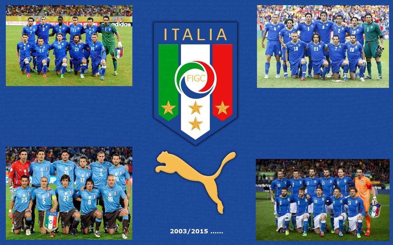 d08e9410e2 In attesa del Kit Puma 2016 ecco tutte le maglie dell'Italia dal 2003 ad  oggi !!