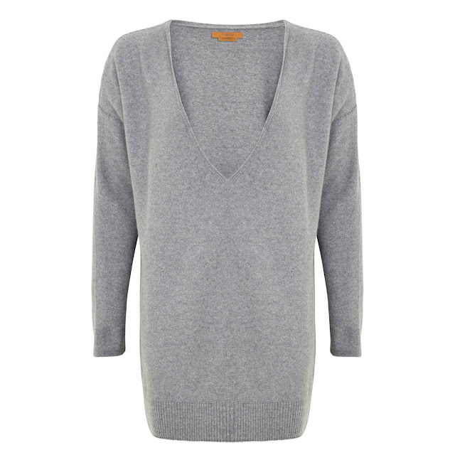 Hope Fashion The Deep Vee Slouch Pop On Knit