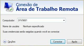 Acessando servidor remoto