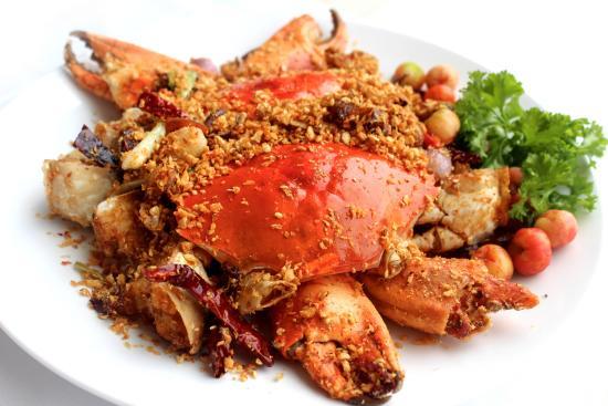 Món sang tôm hùm rang muối kiểu Hồng Kông ~ Mường khương quán | Nha hang  ngon ho tay| quan an ngon o lac long quan