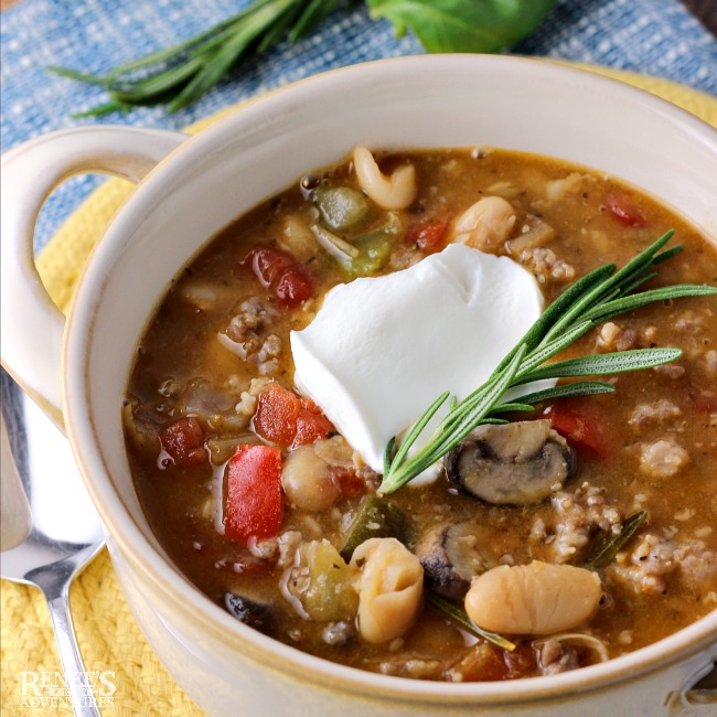 Italian Sausage and White Bean Chili