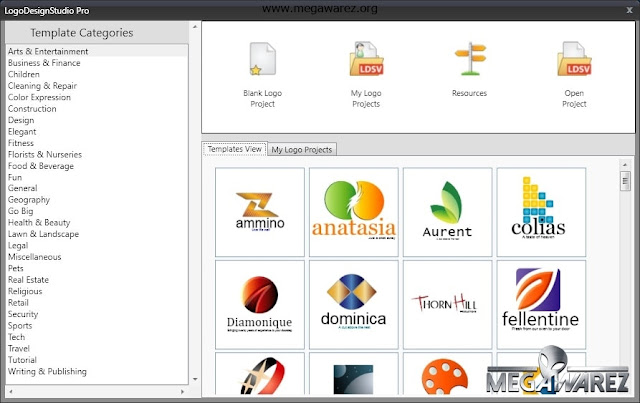 Summitsoft Logo Design Studio Pro Vector Edition 1.7.3 imagenes