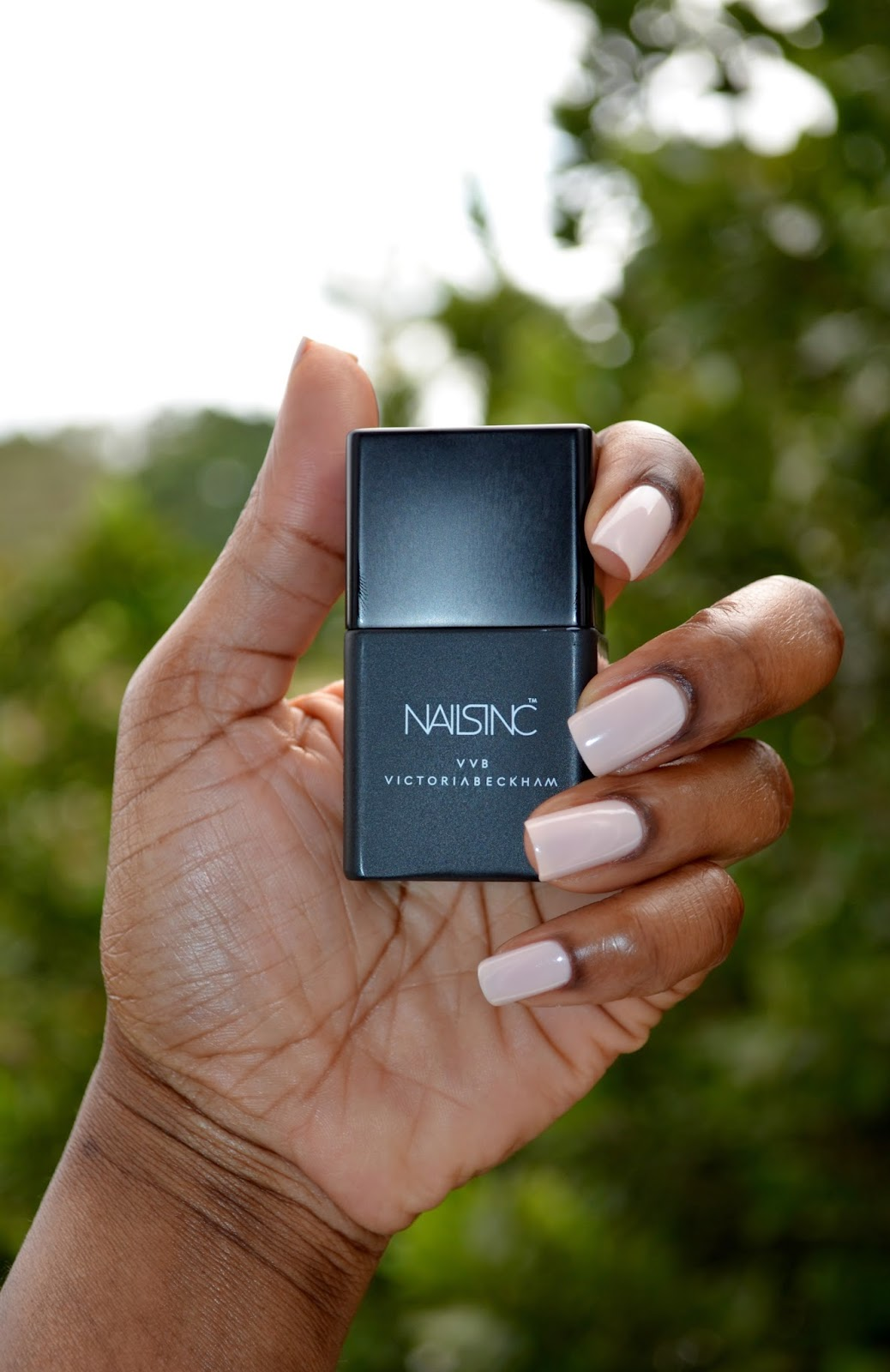 Victoria Beckham X Nails Inc Judo Red Bamboo White Of