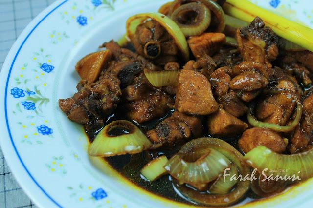 Resepi Ayam Masak Kicap