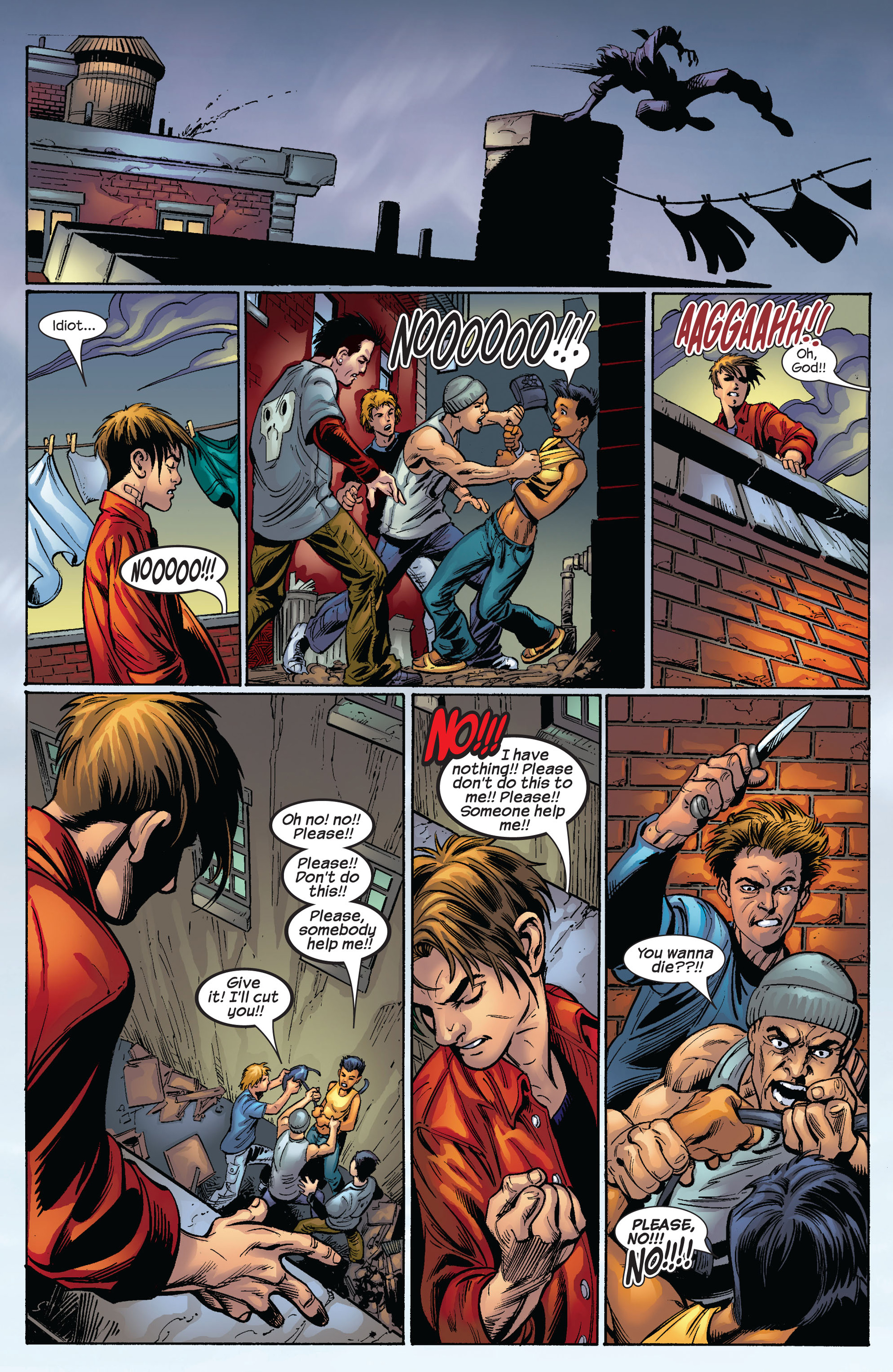 Read online Ultimate Spider-Man (2000) comic -  Issue #65 - 17
