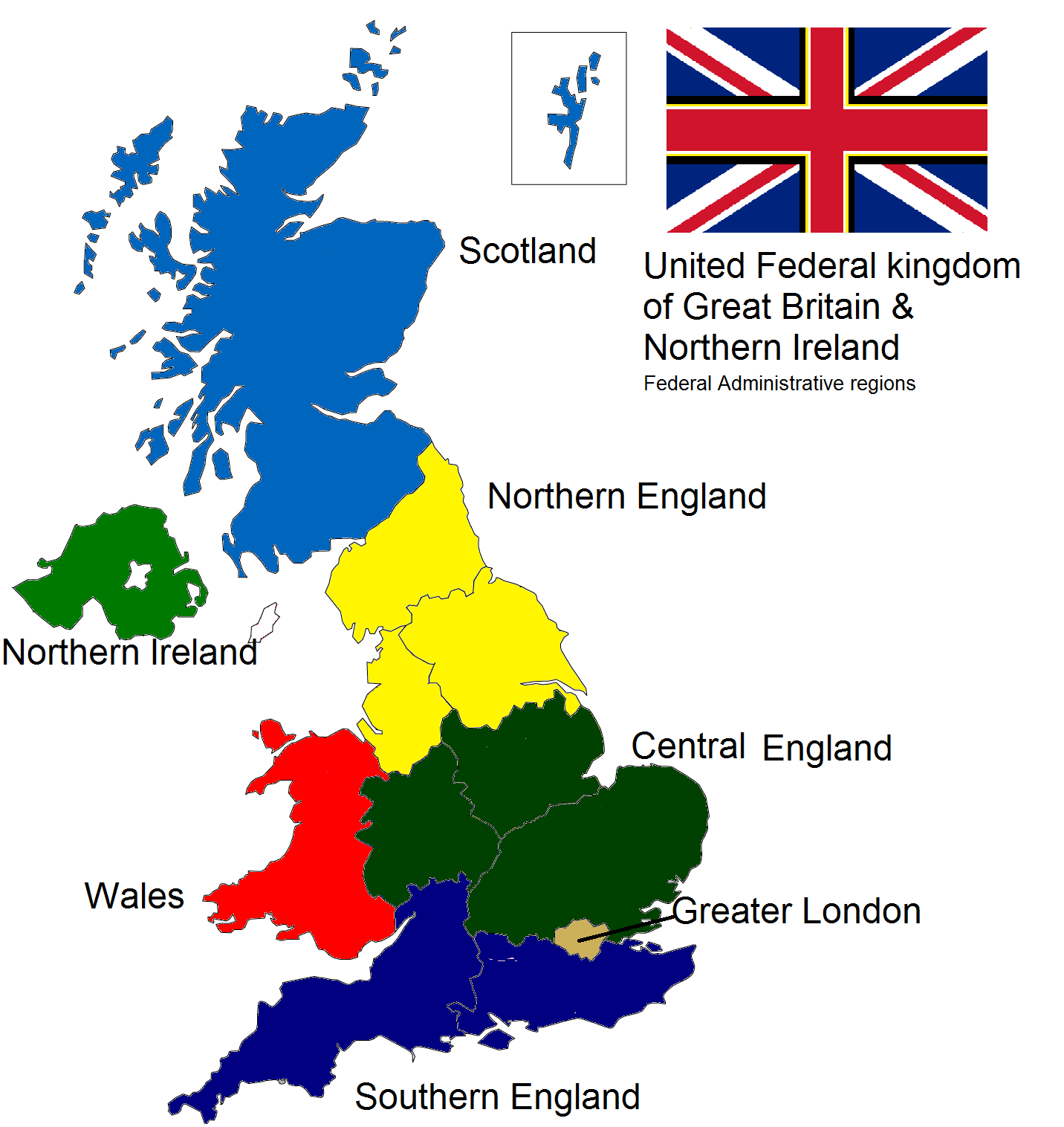 Map Of England Provinces.Sam S Ramblings Federal Britain