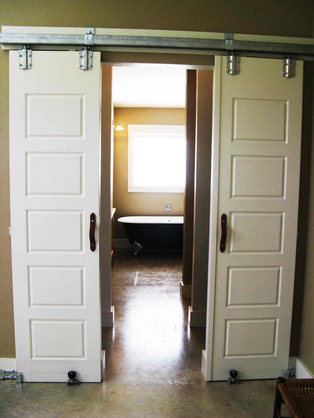 Favorite Farmhouse Feature  Interior Barn Doors