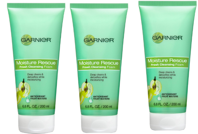 Garnier Moisture Rescue Fresh Foaming Cleanser
