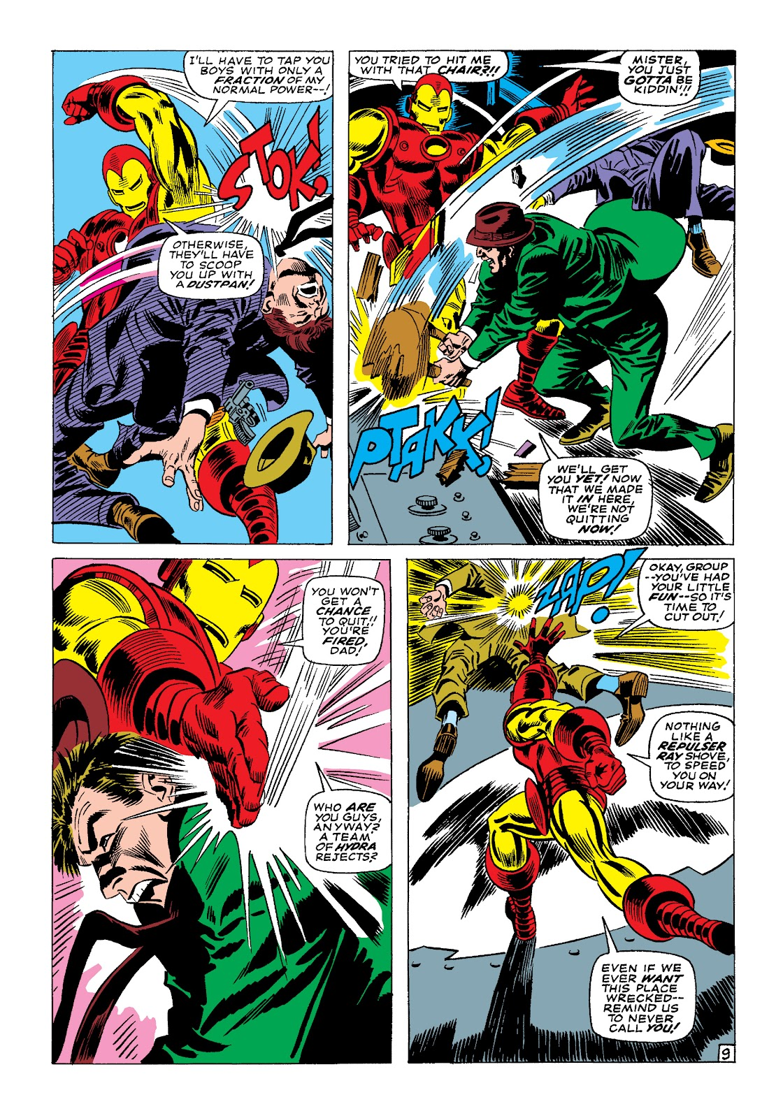 Read online Marvel Masterworks: The Invincible Iron Man comic -  Issue # TPB 4 (Part 1) - 54