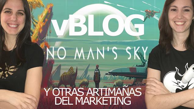vblog chicas gamers no mans sky
