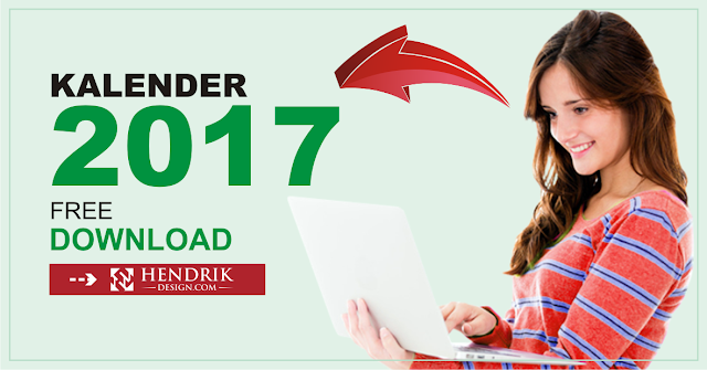 DOWNLOAD KALENDER 2017 VECTOR CDR GRATIS