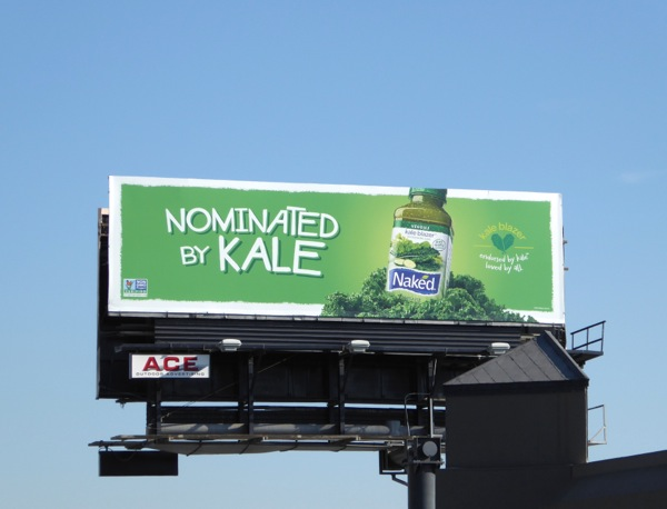 Nominated by Kale Naked Juice billboard
