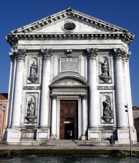 The church of Santa Maria del Rosario, Venice
