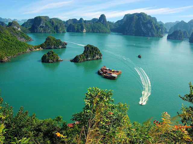 Top 5 ways to view Halong Bay from above