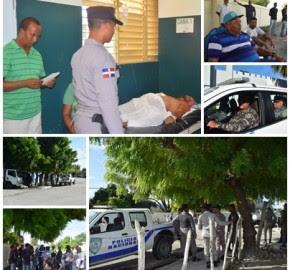 El Cachón tomado por PN y ERD para evitar conflictos con vecinos Cabral por muerte de cabo del Ejército