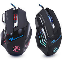 Mouse 5500 DPI LED óptico USB Gamer