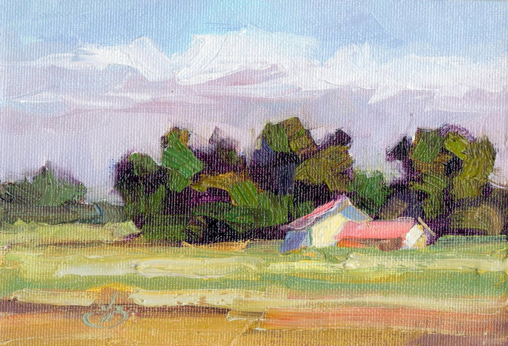 impressionism art landscape - photo #7