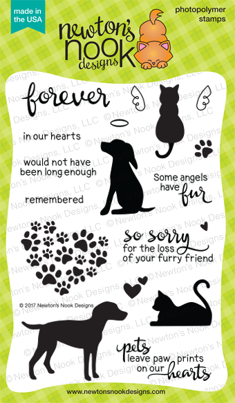Furrever Friends Newton's Nook Designs Stamp Set