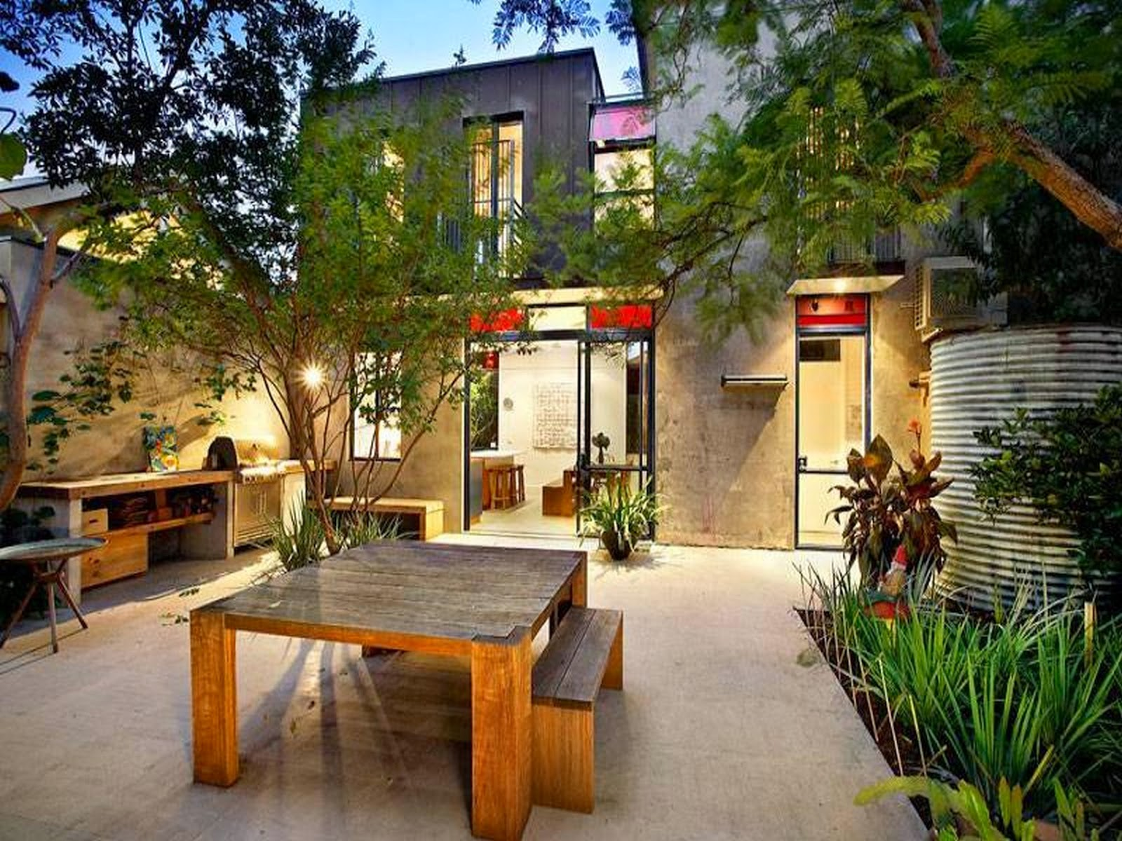 53 gambar teras belakang rumah minimalis sederhana - Critical elements for a backyard landscaping ...