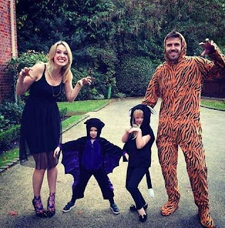 Michael Carrick Family Costume