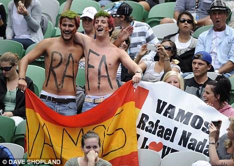 fans del tenis español · conlosochosentidos.es