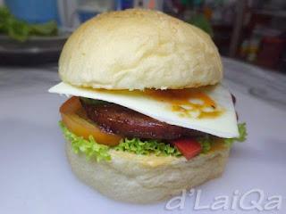 Chibi Burger ala Rika
