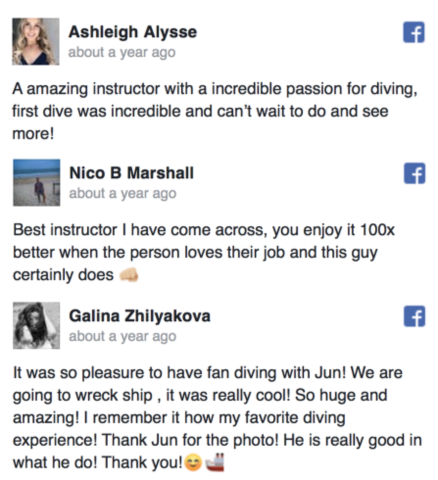 Reviews- Click Here
