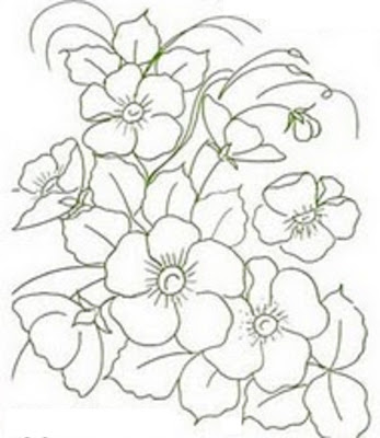Imagens De Flores Lindas Para Desenhar
