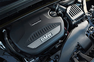 BMW SUV-Coupé X2 engine room