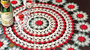 Centro de mesa al crochet para Navidad / patrones