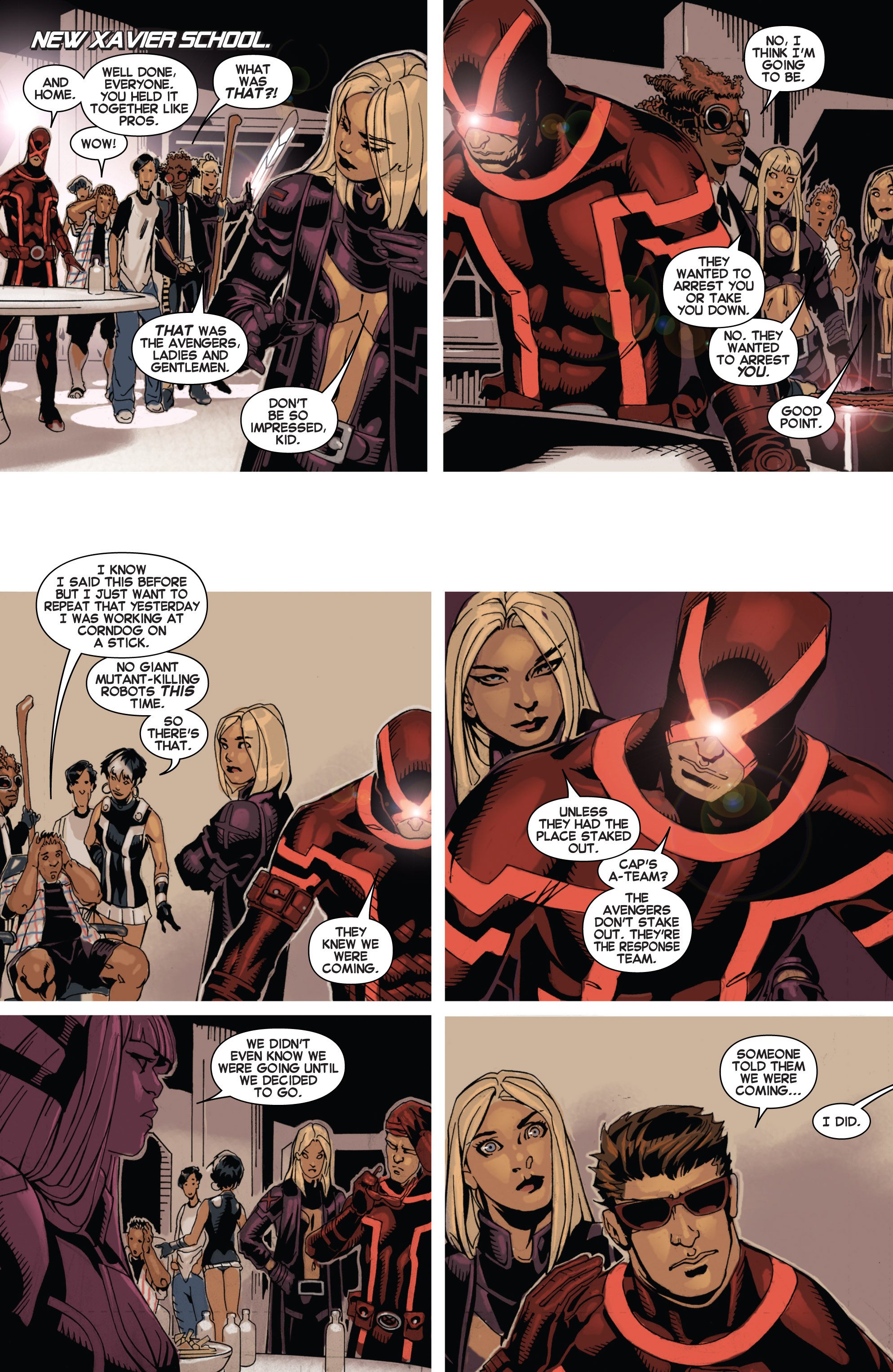 Read online Uncanny X-Men (2013) comic -  Issue # _TPB 1 - Revolution - 58