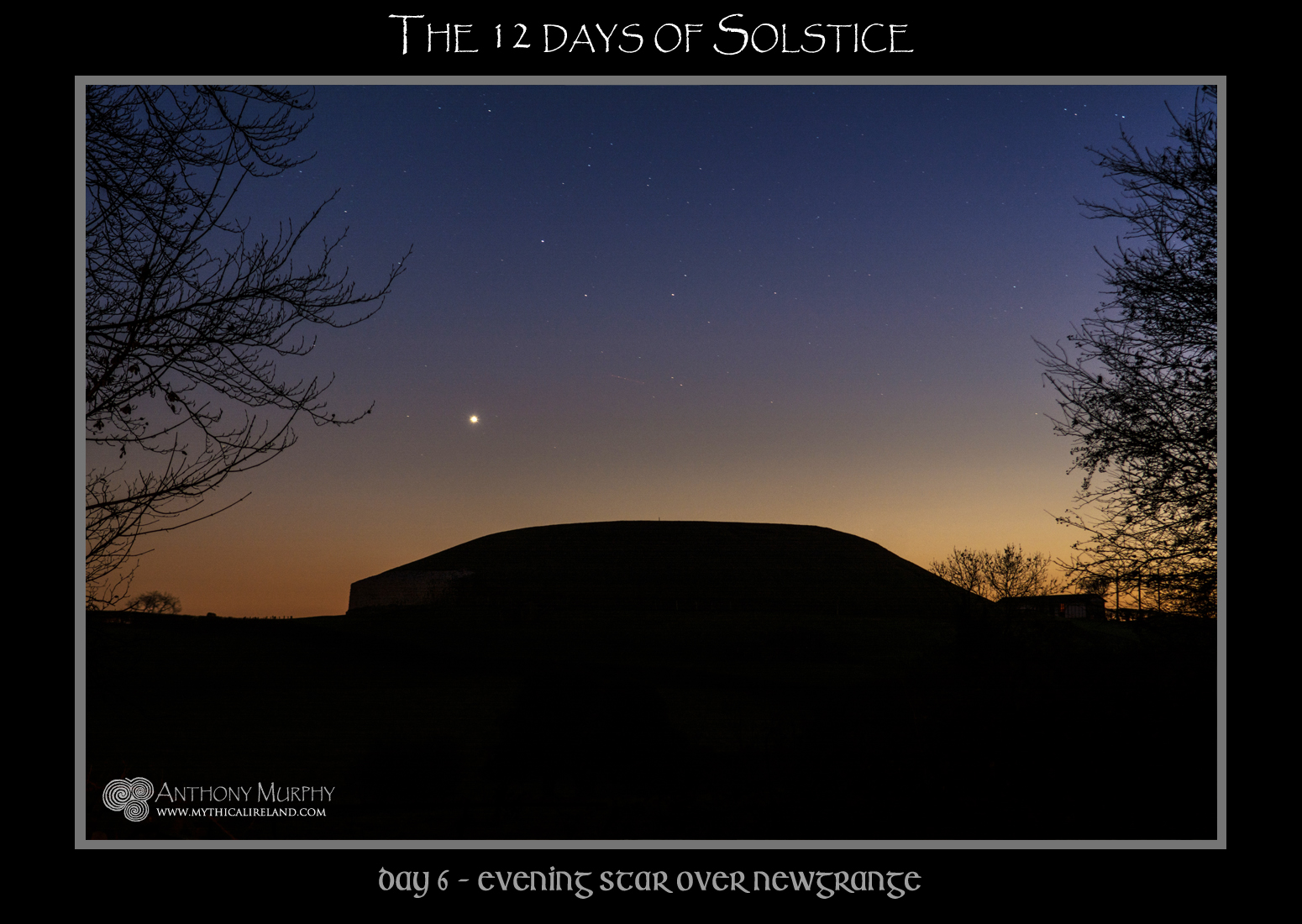 b3aa0a3638 Mythical Ireland blog  The 12 days of Solstice - Day 6 - Venus