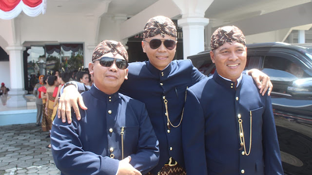 Sinergitas TNI Polri Sukseskan Rapurna DPRD Dalam Rangka Peringatan Hari Jadi ke-163 Kabupaten Cilacap