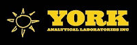 York Analytical Laboratories logo