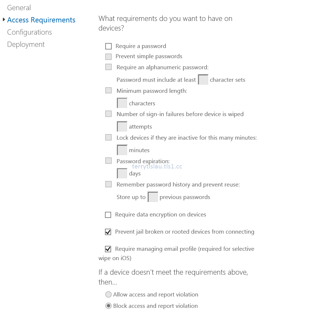 Terry lus blog mobile device management for office 365 part 4 in this part im going to talk about the security policy of mobile device management on office 365 there isnt too much security policy and device maxwellsz