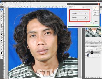 Cara Menghitamkan Rambut Dengan Photoshop