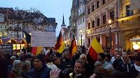 Демонстрация против мечети в Эрфурте