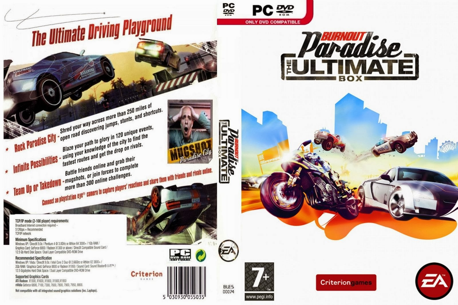 BURNOUT PARADISE PC Download Free Full Version Game Mac, PS3