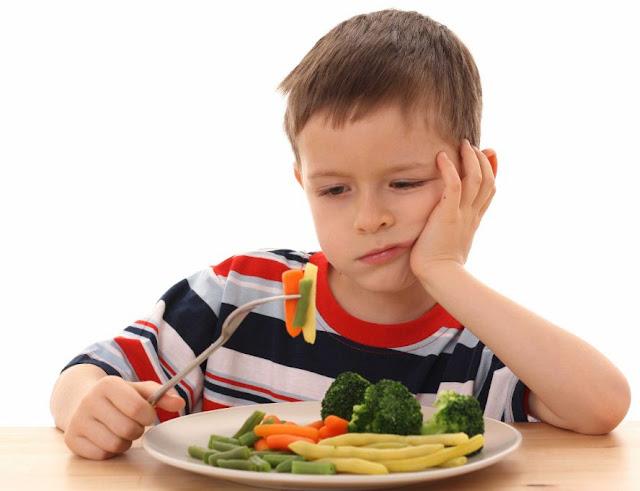Anak Susah Makan Sayur dan Buah
