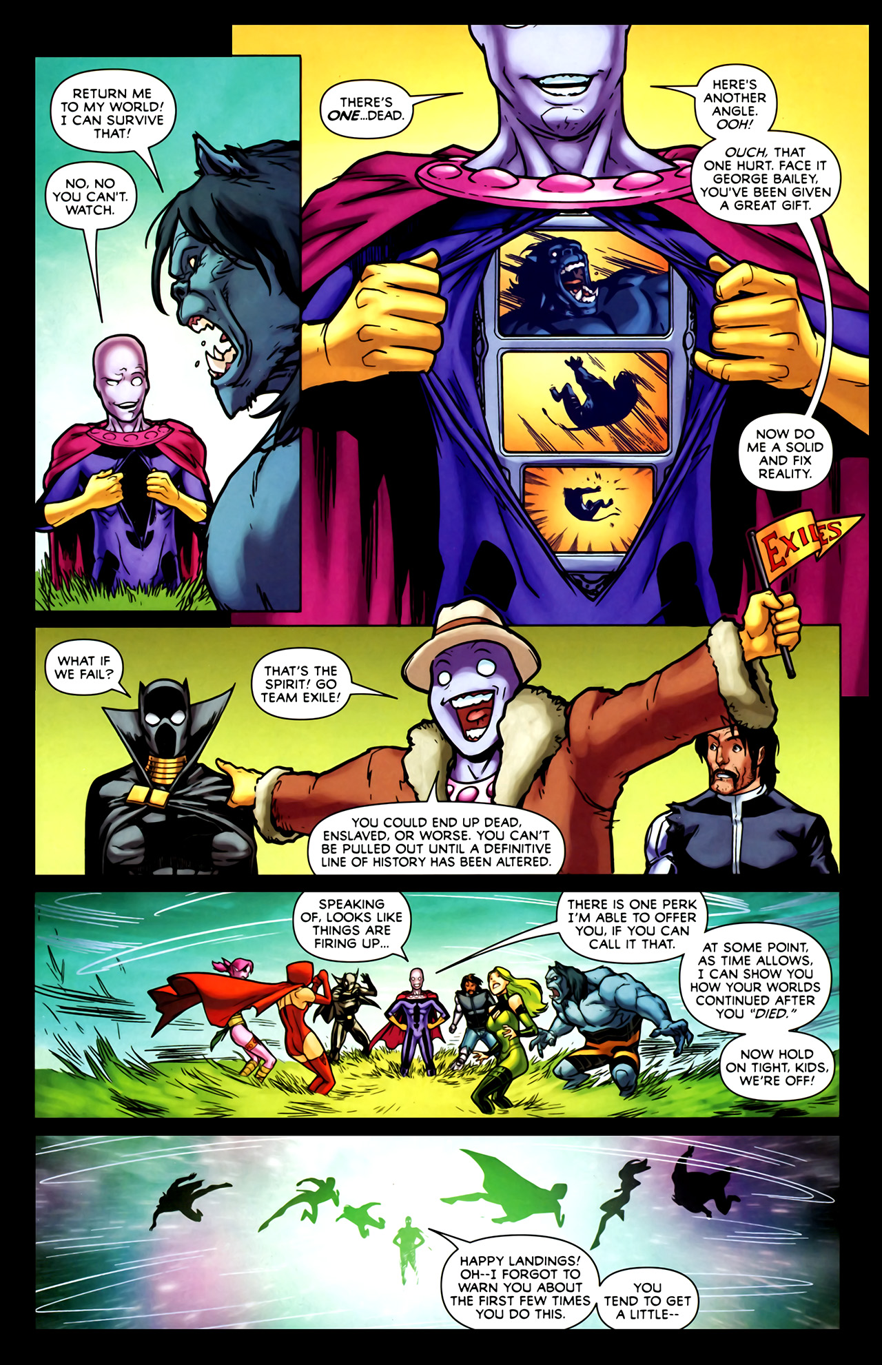 Read online Exiles (2009) comic -  Issue #1 - 20