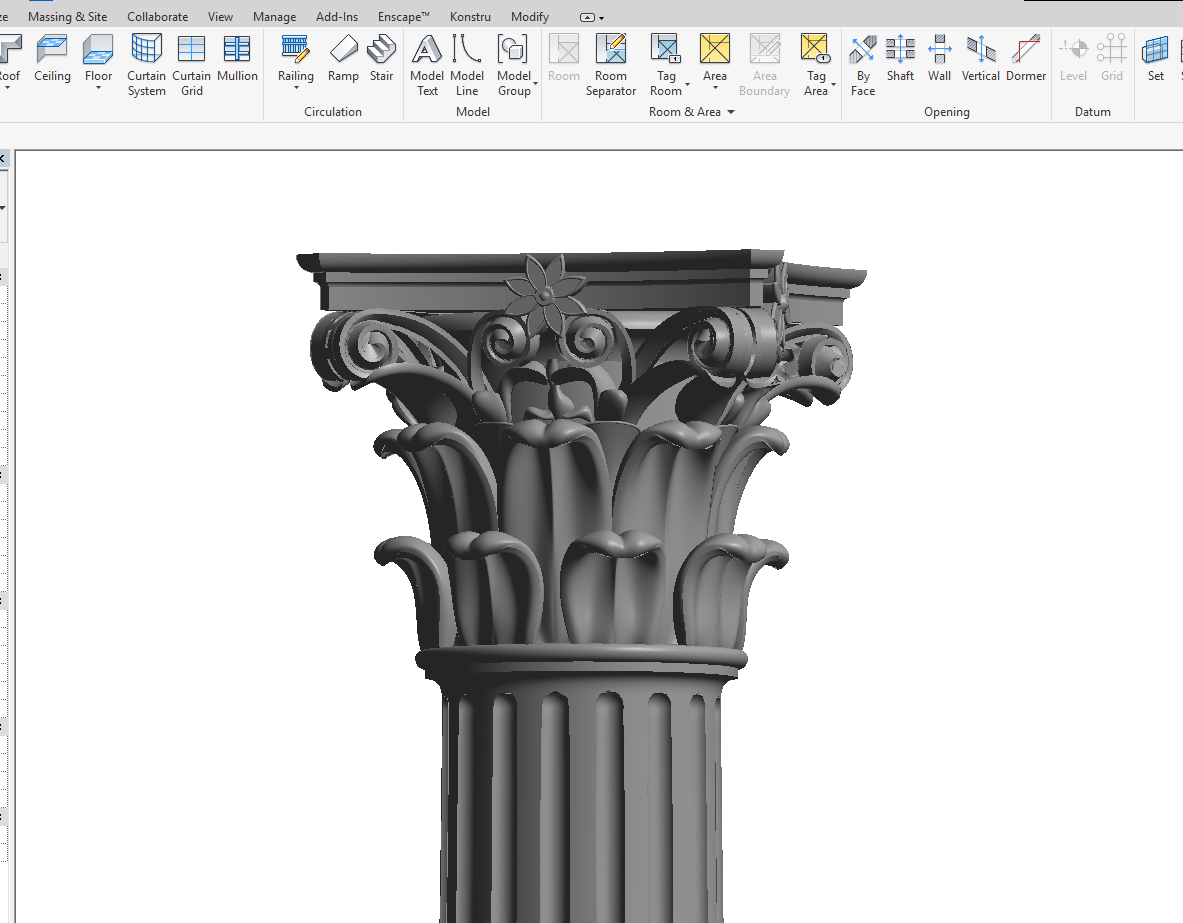 The Simply Complex Blog: WANT A CORINTHIAN CLASSICAL COLUMN IN REVIT