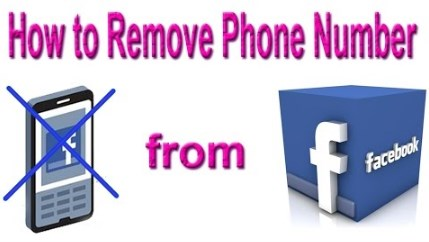 how to remove phone number from facebook 2017